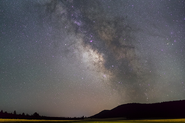 Milky Way over Bonanza, Colorado Credit Renden Yoder